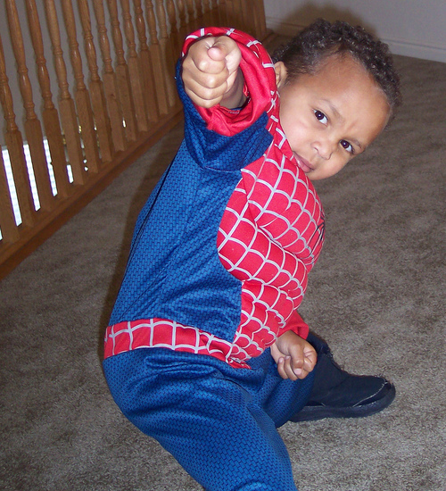 Moses, aka Spiderman